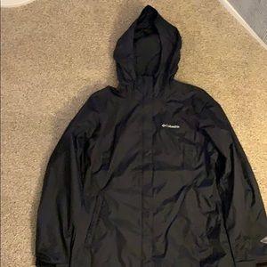 Columbia rain jacket.